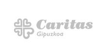 Logo Caritas Gipuzkoa, organización de la caridad de la Iglesia