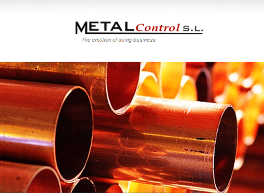 Metalcontrol. The emotion of doing business. Consultant in the Metal Industry