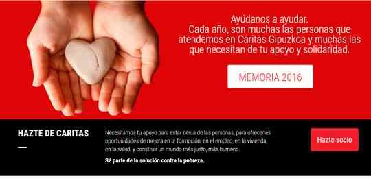 Web Caritas Web