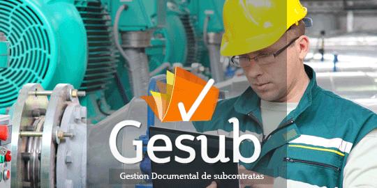 Gesub. Gestión Documental de Subcontratas