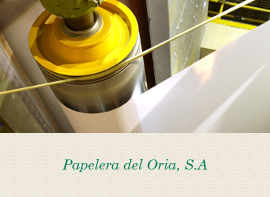 Papelera del Oria. Fábrica de papel